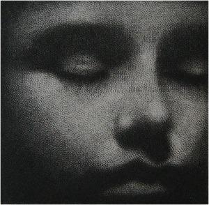Cleo Wilkinson, Becalmed, mezzotint print 5/50, Australia
