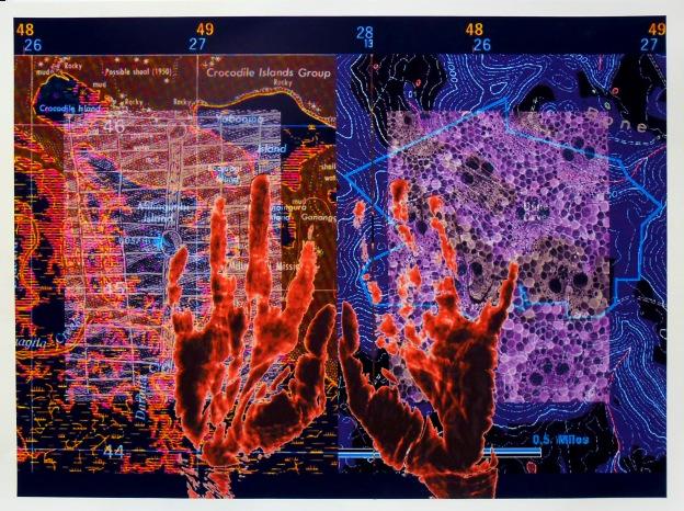 Deborah Cornell, Place trace, archival digital print AP II, U.S.A $POA