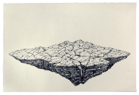 Endi Poskovic, Two, stone lithograph from single stone, U.S.A $POA